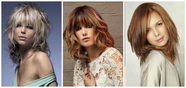 Молодежные стрижки 2017 на средние волосы женские