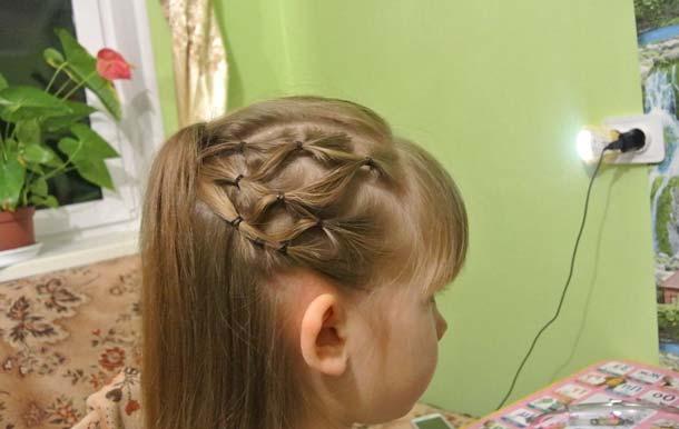 Прическа сетка из волос пошаговая инструкция