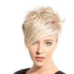 распространённая асимметрия волос