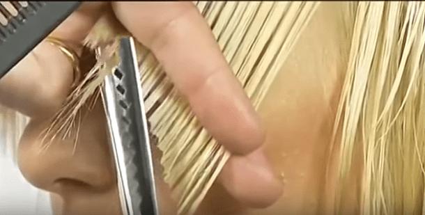 зигзагообразные ножницы
