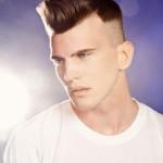 зачёсанные волосы