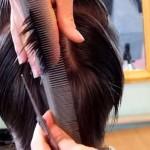 работа с волосами