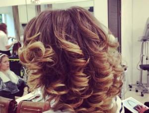 модное окрашивание на средние волосы