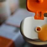 жидкий и оранжевый