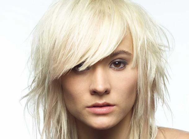 Цвет волос платиновый блондин