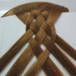 волосы на листке