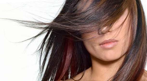 Колорирование на темно русые волосы