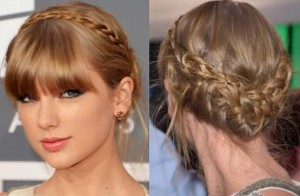 причёска с косами