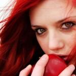 наслаждение яблоком