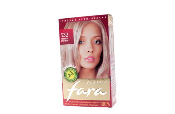 Розовый блондин для волос купить