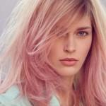 розовый блондин