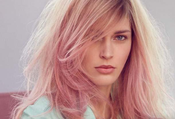 Цвет волос розовый жемчуг фото