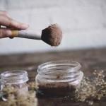 коричневая пыль