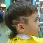 выстриженный узор