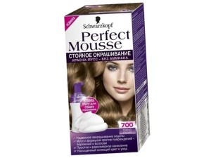краска Schwarzkopf Perfect Mousse
