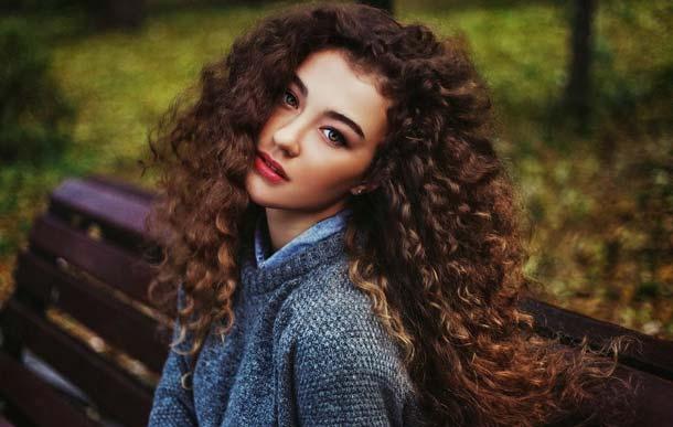 Волосы волнистые от природы волосы