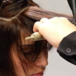 вытягивание волос