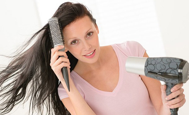 Как сушить волосы феном чтобы они были прямыми