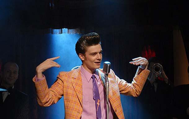 фиолетовый галстук
