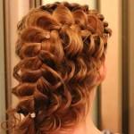 многослойное плетение косы