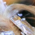 осветление краской для волос