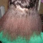 до мытья волос