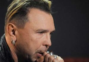 мужская рок причёска