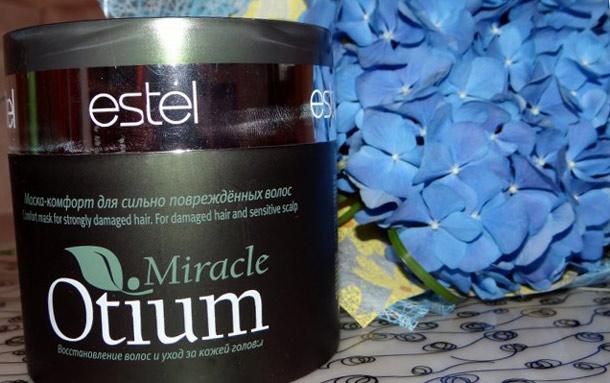 Маска для волос интенсивное восстановление эстель