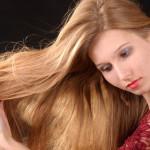 длинная копна волос