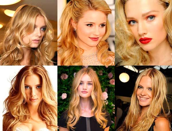 цвет волос золотистый блондин фото