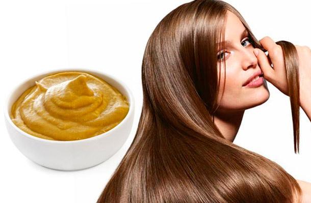 Горчица для укрепления и роста волос