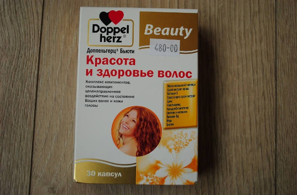 витамины для волос доппельгерц