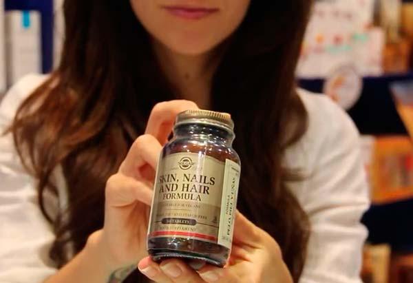 Витамины солгар для волос ногтей и кожи купить